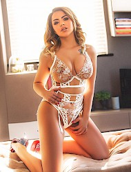 Kaley busty blonde party girl escort Bayswater W2 Escort London